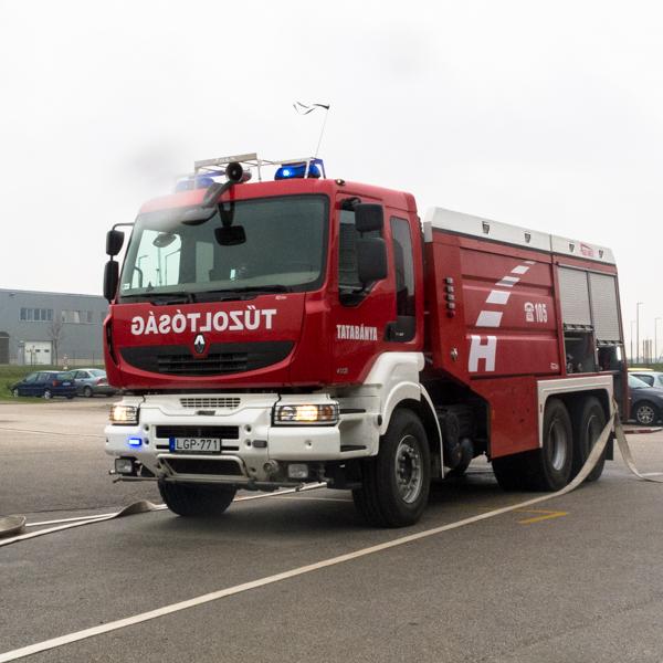 Megyei szintű kiemelt tűzvédelmi gyakorlat szervezése