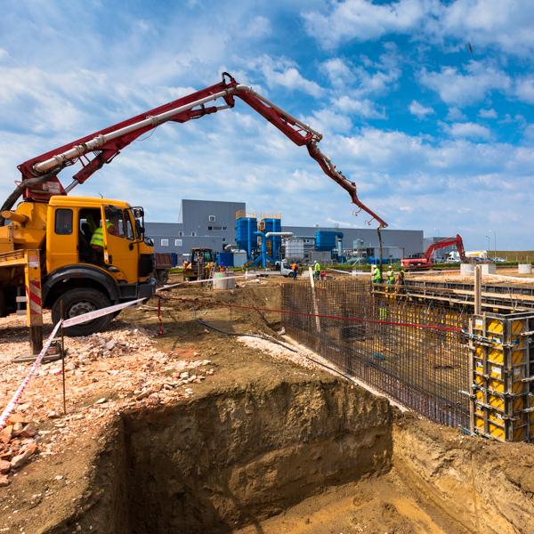 Gyártócsarnok  építés (Lakógép Kft.) - műszaki tanácsadás, munkavédelmi koordináció